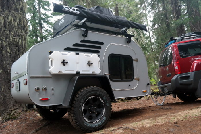 TerraDrop Trailer For Serious Off-Road Camping